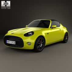Toyota S-FR 2015 3D Model .max .c4d .obj .3ds .fbx .lwo .stl @3DExport.com by humster3D