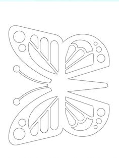 How to Make Paper Colorful Butterflies Paper Crafts - The Ultimate Craft Ideas Paper crafts had been Paper Flower Patterns, Felt Patterns, Card Patterns, Mosaic Patterns, Embroidery Patterns, Butterfly Quilt, Butterfly Drawing, Butterfly Crafts, Butterfly Mobile