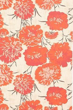 Peony Wallpaper -- LOVE this -- maybe for the guest bathroom?