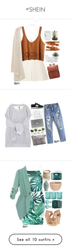 """""""#SHEIN"""" by credentovideos ❤ liked on Polyvore featuring Valentino, Violeta by Mango, Topshop, Brinkhaus, New Balance, Boohoo, Home Decorators Collection, Jamie Young, atelier tete and Olfactive Studio"""