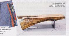 natural beauty...stunning coffee table by john houshmand, also featured here: http://thelistcollective.com/lists/dept/style/robert-cortney-novogratz-interior-designers-tv-hosts-hgtvs-home-by-novogratz/