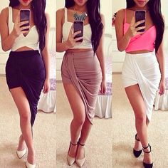 Need this effin skirt* * find more women fashion on www.misspool.com