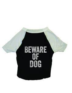 Dog Baseball Shirt - Beware