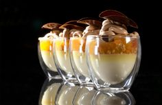 Forma Double Wall Glass Espresso Dessert Cup  Bachour Creation  #Bachour #Pastry
