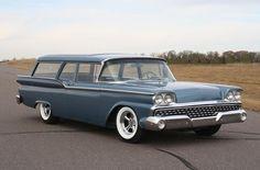58 Ford 2 Door Wagon