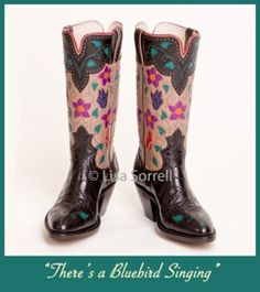 Made by one of my hero bootmakers, and friend Lisa Sorrell. I've never seen an ugly boot from her