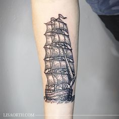 Linework Etching Engraving Tattoo by Lisa Orth
