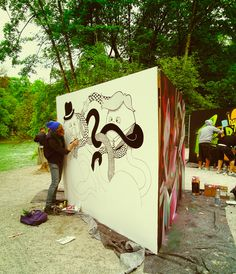 tshirt-design-artist-wall-paintings-street-art-kunstner-mormor-storby-liv-maleri-mural-kunst-exhibition-arbejdsplads-udsmykning-