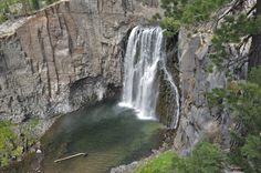 Rainbow Falls- Mammoth, CA