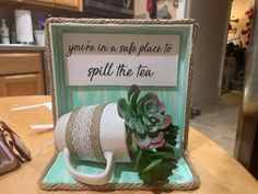 Sign Display, Diy Apartment Decor, Letter Board, Lettering, Tea, Frame, Projects, Home Decor, Picture Frame