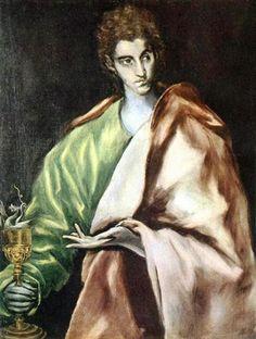 Apostle St. John the Evangelist - El Greco
