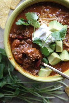 Spicy Beef Chili by Heather Christo, via Flickr