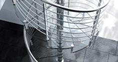 Wendeltreppe Spiral | Formstep Treppen - Modell: SPIRAL GLASS Spiral Stair, Stairs, Spiral Staircases, Scale Model, Spiral Staircase, Stairway, Staircases, Ladders