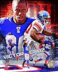 06eab730d NY Giants Victor CRUZ New York Football