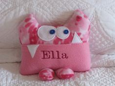 Personalized Tooth Fairy Pillow by Kooky Critters - Custom listing for Miss on Etsy, $22.00