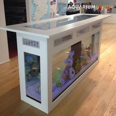 fish tank in kitchen bar - Google Search