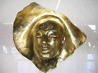 Koperen masker (copper mask) by Isabelle Stroef