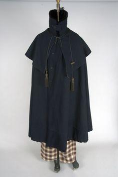 Man's cloak, 1830s-1840s