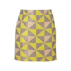 #blockstreifen #geometrie  http://www.stylight.de/Artikel/Max-Co/Rock-Mit-Grafischem-Muster/