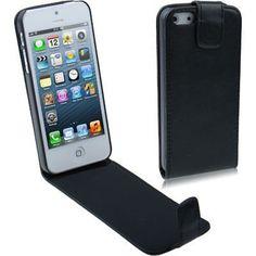 Handytasche Klapptasche für Iphone 5 in schwarz von CNP