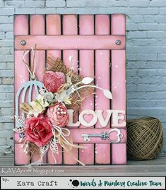 Wood crafts to sell. Crafts To Sell, Diy And Crafts, Arts And Crafts, Valentines Day Decorations, Valentine Day Crafts, Valentines Balloons, Wood Canvas, Wood Art, Canvas Art