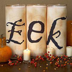 Creepy Candles