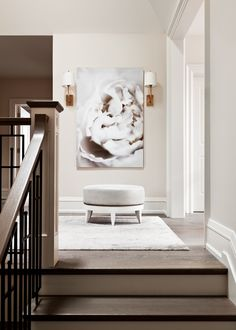 Upper Hallway designed by Elizabeth Metcalfe Interiors & Design Inc…
