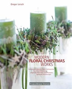 Modern Floral Christmas Works by Gregor Lersch NEW LOWER PRICE