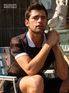 Sean OPry Embraces the Simple Life for LOfficiel Hommes