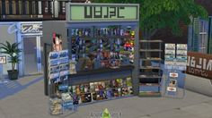Around The Sims 4: Paper shop • Sims 4 Downloads