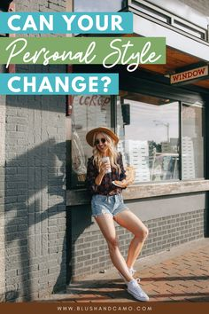 So, here's the big question? Can personal style change? Can what you are naturally drawn to change over time? As you get comfortable in your own skin, does your sense of style change? After all, fashion is an expression of self. #personalstyle #changepersonalstyle #fashionchanges #senseofstyle