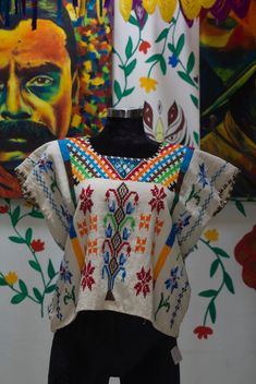 Witch Fashion, Creative Artwork, Mexican Style, Beautiful Blouses, Classic Outfits, Sewing Clothes, Cross Stitch, Embroidery, Regional