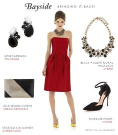 Ways to re-wear your bridesmaid dress for a party by Dress for the Wedding on Bayside Bride