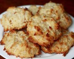 Coconut Macaroons: Ingredients: 1. 1 cup agave nectar 2. ½ cup of approved nut milk 3. 1 teaspoon salt 4. 3 cups shredded coconut, unsweetened 5. ¾ cup spelt flour.