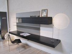 Graye showroom summer 2013 Porro modern / loadit wall desk