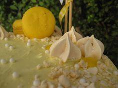 O Bolinho de Sábado: Bolo de Limão com Cobertura de Mascarpone & Lemon ...