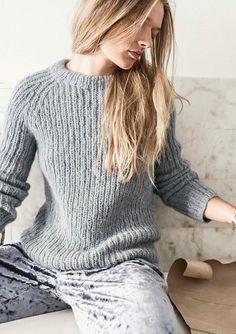 Knitting Paterns, Knit Patterns, Knitting Ideas, Dere, Angora, Sweater Design, Knitwear, Knit Crochet, Winter Fashion