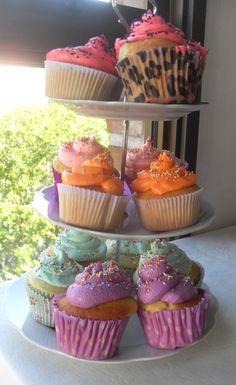 Multicolores de vainilla