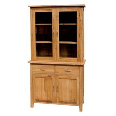 CH Furniture Brooklyn Oak Glazed Bookcase £700.00