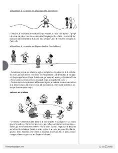 Psychomotricité (1) / Avec une grande corde