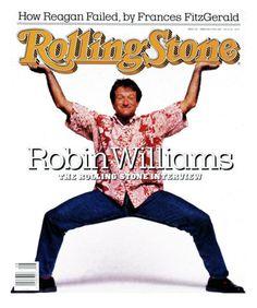 Robin Williams, Rolling Stone no. 520, February 1988