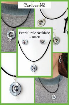 Reminiscent of pacific beaches, this adjustable pearl circle necklace is lovingly handmade in my sunny home studio in West Auckland. Beautiful Gifts For Her, Washer Necklace, Pendant Necklace, Circle Necklace, Auckland, Gift Guide, Sterling Silver Jewelry, Beaches, Birthday Gifts