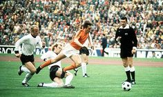 World Cup final 1974  Crujff  West Germany - Netherlands