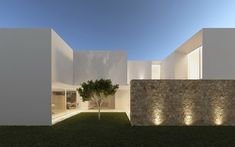 The house of the three trees by Gallardo Llopis Arquitectos 06 Minimalist Architecture, Architecture Design, Pavilion Architecture, Sustainable Architecture, Residential Architecture, Casa Patio, House Extensions, Minimalist Home, Modern House Design
