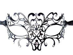 Die Venezianische Maske Aida verziert Dein Gesicht erotisch und geheimnisvoll!