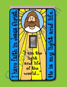 Faith in Jesus Christ, Primary Lesson Helps, Primary 3 CTR-B, Lesson 7 - Gospel Grab Bag Jesus Faith, Jesus Christ, Primary Talks, Doctrine And Covenants, Primary Lessons, Religious Education, Light Of The World, Help Teaching, Grab Bags