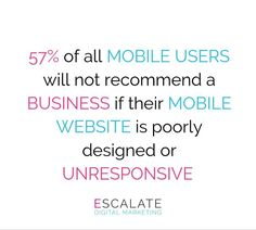 Why having a mobile-friendly website is critical 📲❗️  In 2016, mobile users surpassed desktop in Internet traffic. Today, just over 51% of all Internet users browse websites from a smartphone. This means that more than half of those people visiting your site are doing so from mobile technology.  Why is this important? Because having a basic site simply does not look well when viewed on a small screen. It's more difficult to use and requires visitors to zoom into content in order to read it.