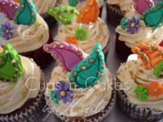 Bollywood Cupcakes by CupsNCakes, via Flickr
