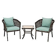 Image Of Levine 3 Piece Wicker Chair Set In Mist From Bed Bath And Beyond