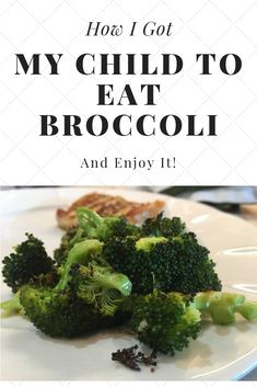The recipe that made my entire family love eating broccoli! Toddler Finger Foods, Toddler Meals, Kids Meals, Family Meals, Easy Meals, Toddler Food, Family Recipes, Baby Food Recipes, Healthy Recipes